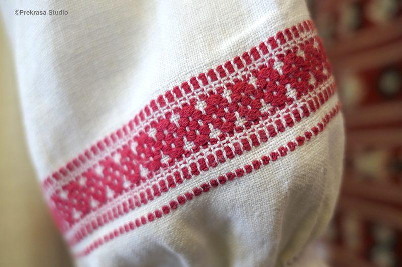 Традиційний жіночий одяг Українського Полісся. Серпанок, серпанковий одяг.  Онлайн школа української вишивки Prekrasa Studio