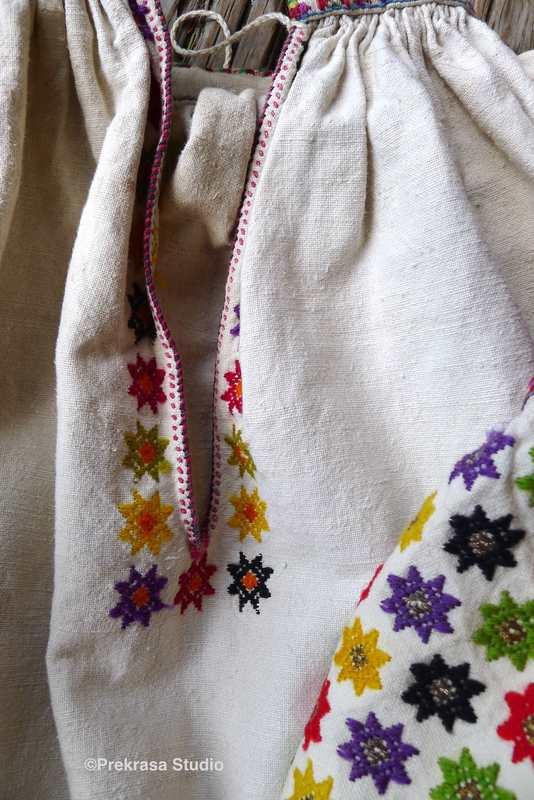 Жіноча сорочка, гуцульщина, гуцульська сорочка. Онлайн школа української вишивки Prekrasa Studio