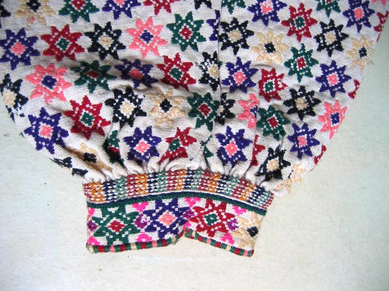 Жіноча сорочка, візерунок вишивки, гуцульська сорочка. Онлайн школа української вишивки Prekrasa Studio
