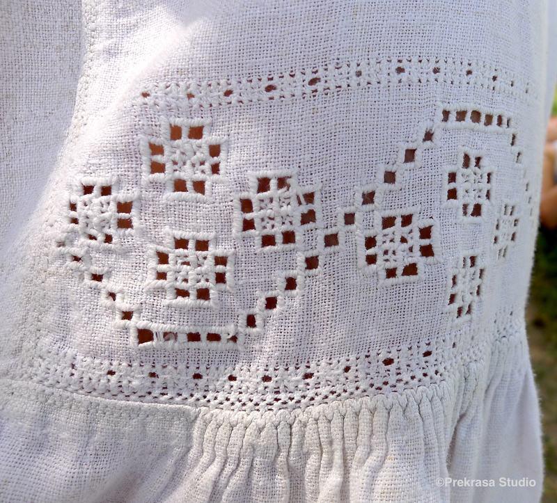 Вишивка білим по білому, вирізування. Онлайн школа української вишивки Prekrasa Studio