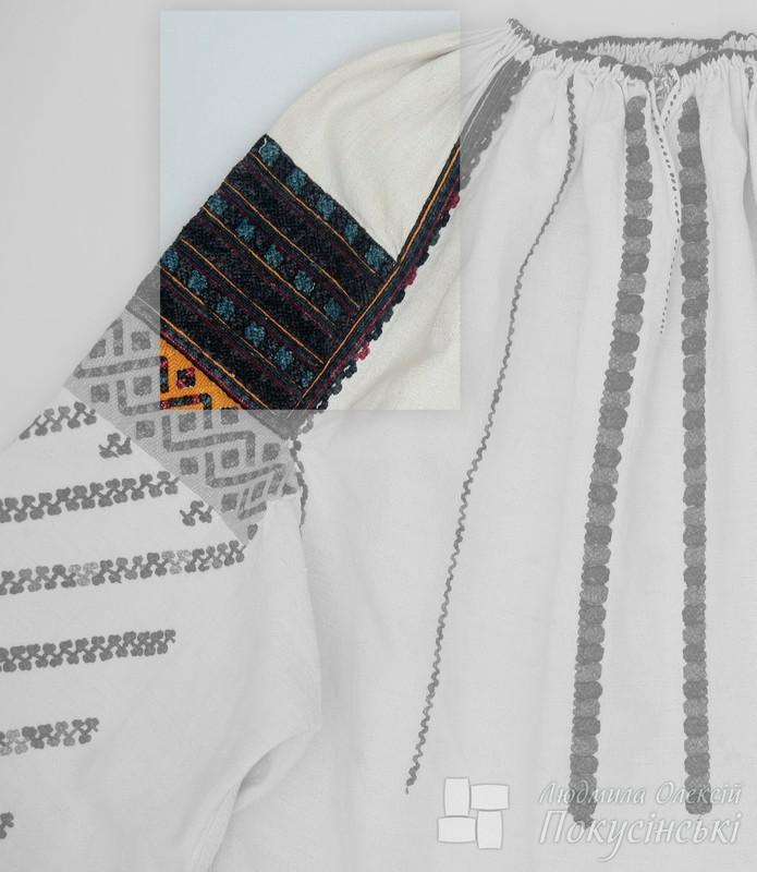Борщівська жіноча сорочка. Онлайн школа української вишивки Prekrasa Studio