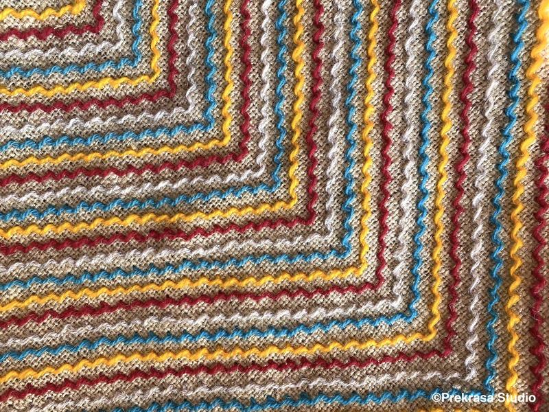 Як пошити подушку. Верхоплут. Домашній текстиль, декор інтер'єру. Школа української вишивки Prekrasa Studio